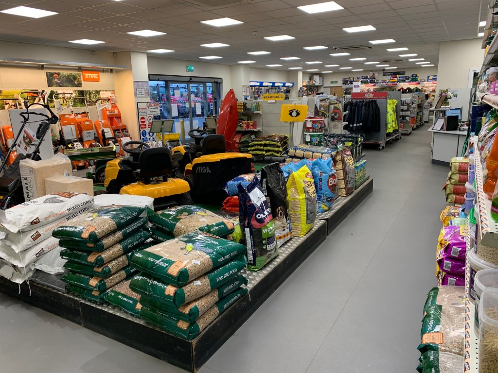 TNS in store supplies