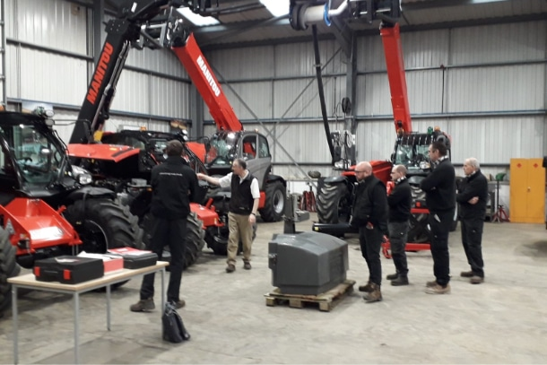 Manitou technicians training