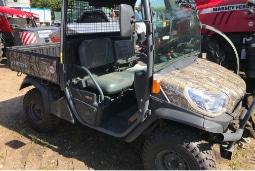 Muddy utility vehicle