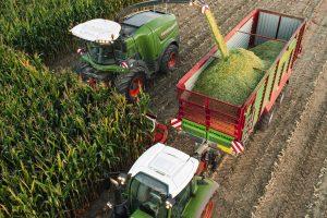 Fendt harvesting