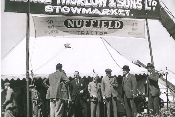 1875 celebration of setting up the Thurlow Nunn Standen business