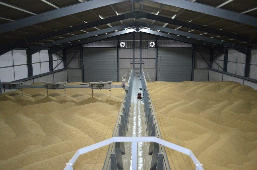 Barley storage
