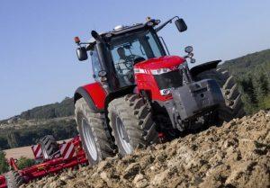 MF8732 tractor