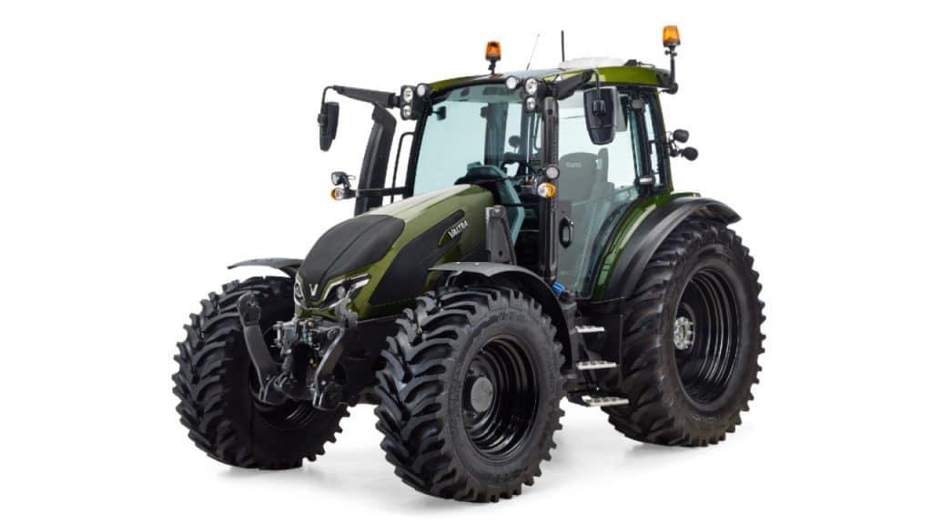 Green Valtra tractor