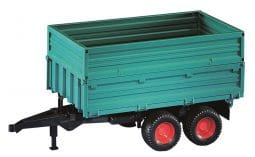 Bruder Green Trailer w/ Removable Top Toy