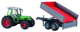 Fendt 209 S with tipping trailer toy