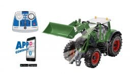 Fendt 933 Vario with Front Loader and Bluetooth Remote Control