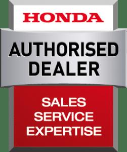 Honda authorised dealer logo