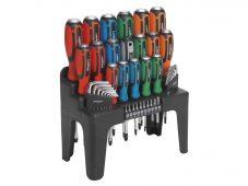 44pc Hammer-Thru Screwdriver, Hex Key & Bit Set