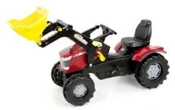 Massey Ferguson 7726 Pedal Tractor and Loader Toy