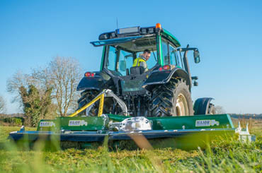 FENDT TRACTOR IN A FIELD