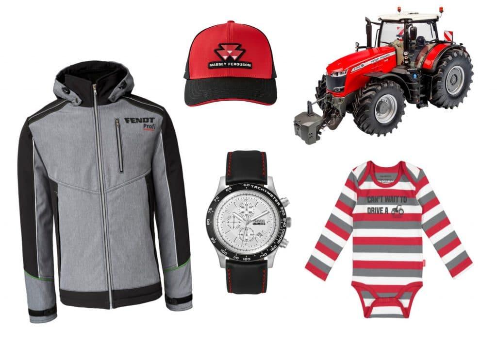 Merchandise for Fendt, Massey Ferguson and Valtra